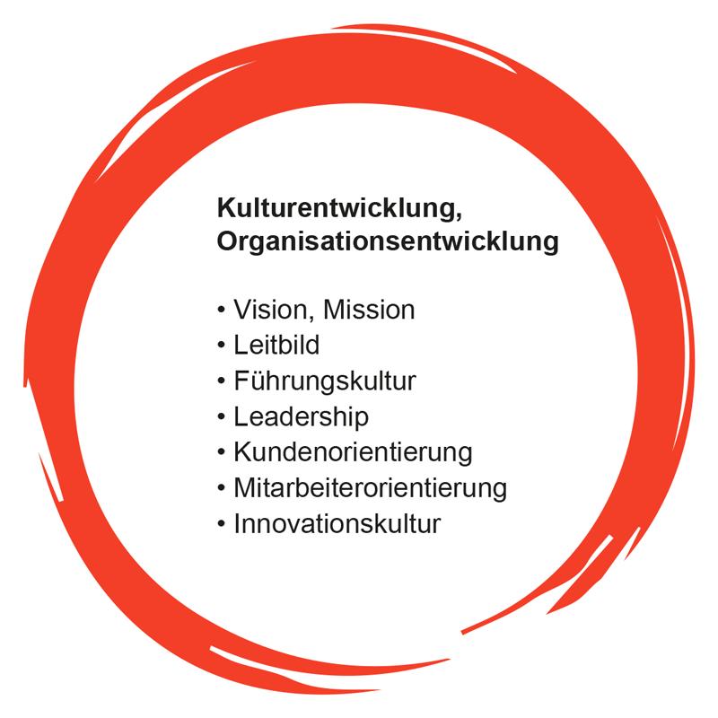 Angebot: Kulturentwicklung, Organisationsentwicklung