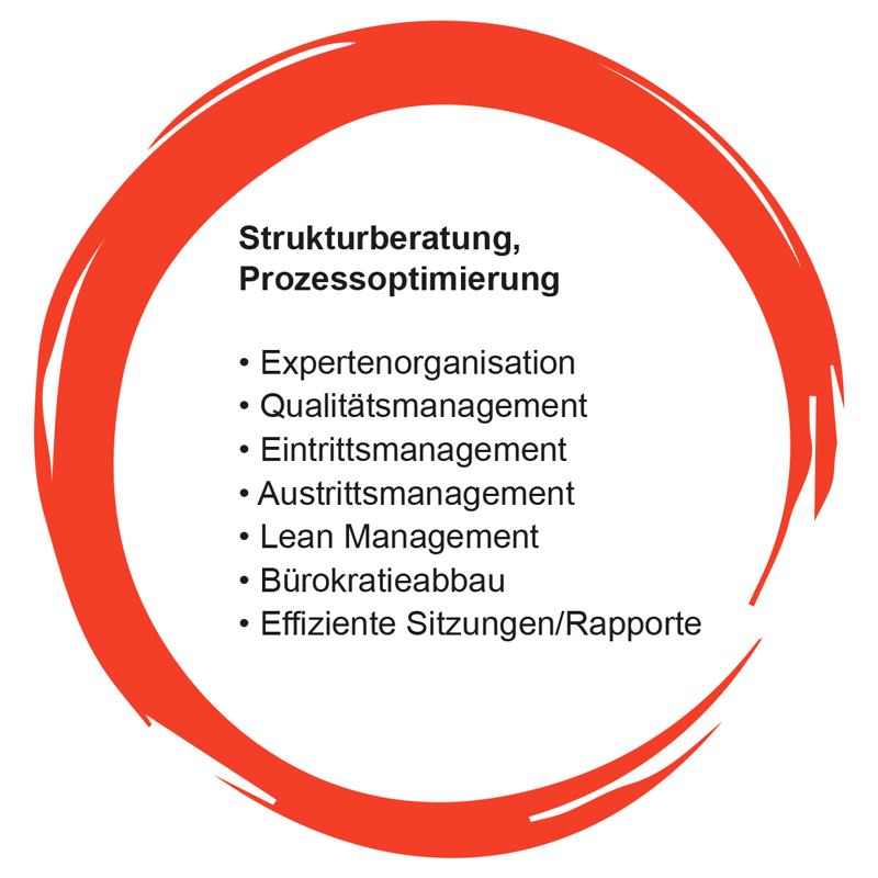 Angebot: Strukturberatung, Prozessoptimierung